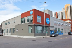 New CUPS building at 1001-10 Ave. S.W., Calgary, Alberta