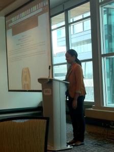 Samra Admasu, presented the history of the blog.
